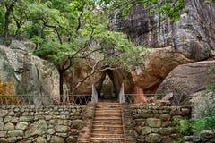 Citadel of Sigiriya - Lion Rock Royalty Free Stock Images