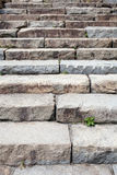 Old stone stairs Stock Photo