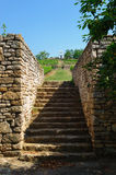 Old stone stairs to the vineyards Stock Photos