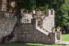 Old stone stairs Stock Photography