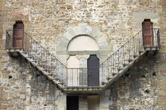 Old stone stairway Royalty Free Stock Image