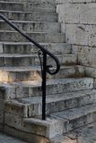 Old stone stairways in Greece Royalty Free Stock Images