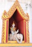 Old stone statues of Buddha, Nanpaya temple, Bagan, Myanmar Royalty Free Stock Photos