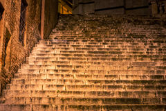 Free Old Stone Steps At Night Royalty Free Stock Photography - 90302077