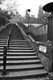 Old Stone Steps, Edinburgh Royalty Free Stock Images
