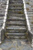 Old stone steps Royalty Free Stock Image