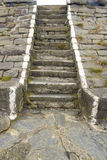 Old stone steps Royalty Free Stock Images