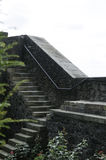 Old stone steps of Stirling Castle Stock Photos