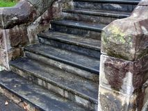 Old Stone Steps Stock Images