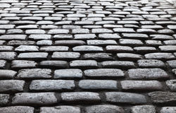 Old  stone street pavement background Stock Images