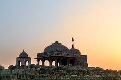 Old stone temple at Abhaneri shot at dusk