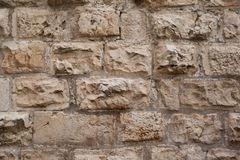 Old stone texture. From ancient jerusalem wall Royalty Free Stock Photos