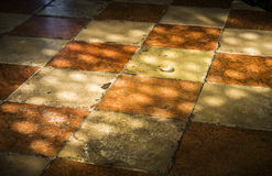 Old stone tiles Stock Images