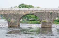 Old stone toll bridge Royalty Free Stock Photography