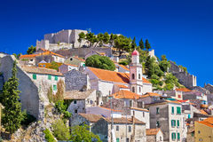 Old stone town of Sibenik Stock Photo
