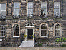 Old stone townhouse Stock Images