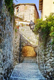 Old stone village Royalty Free Stock Images