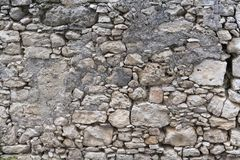 Old stone wal stock image