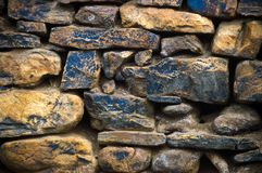 Old Stone Wall Royalty Free Stock Photography