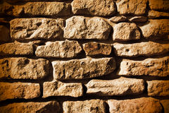 Old stone wall Stock Photo