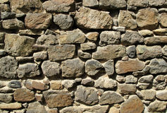 Old stone wall. Of medieval cloister Royalty Free Stock Photography