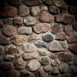 Old stone wall. Royalty Free Stock Image