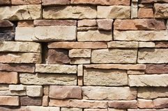 Old stone wall. Texture of Old stone wall Royalty Free Stock Photography