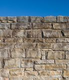 Old Stone Wall. An old stone wall to keep people out Royalty Free Stock Image