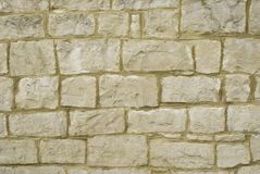 Old Stone Wall Background Stock Photography