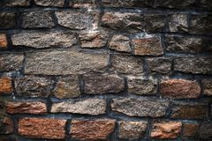Old stone wall background Royalty Free Stock Photo
