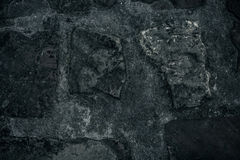 Old stone wall background, brick wall grunge texture close up Stock Image
