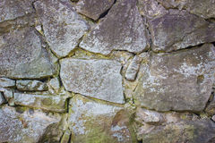 Old  stone wall background Royalty Free Stock Photography