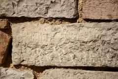 Old stone wall - Background Stock Image