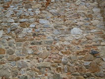 Old Stone wall. Background photo texture royalty free stock photo