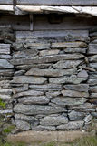 Old Stone Wall Background Texture. Old Generic Stone Wall Background Texture Stock Photo