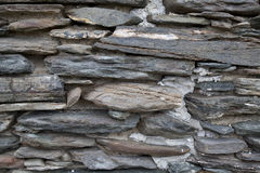 Old Stone Wall Background Texture. Old Traditional Stone Wall Background Texture Royalty Free Stock Photography