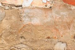 Texture of ancient stone wall, background royalty free stock photography