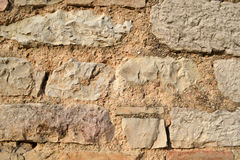 Old stone wall - Background Stock Photos