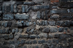 Old stone wall. In Beijing Hutong Stock Images