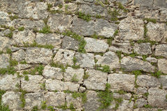 Old stone wall bis Stock Photo