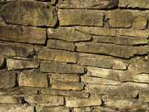 Old stone wall close-up Stock Photography