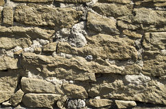 Old stone wall closeup Royalty Free Stock Photos