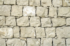 Old stone wall closeup Royalty Free Stock Photography