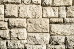 Old stone wall closeup Royalty Free Stock Images