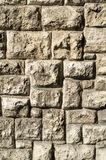 Old stone wall closeup Stock Images