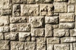 Old stone wall closeup Stock Image