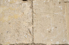 Old stone wall limestone Stock Photo