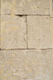 Old stone wall limestone Royalty Free Stock Images