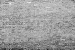 Old stone wall from a natural brick of gray color Royalty Free Stock Image