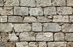 Old stone wall quater Stock Images
